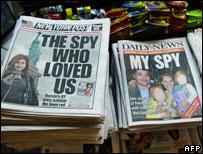 New York newspapers