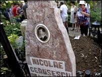 Ceausescu grave
