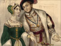 Henry with Anne Boleyn