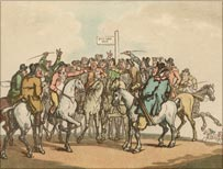 Horse race, 1800 (Getty Images)