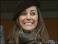 Kate Middleton, who is engaged to be married to Prince William