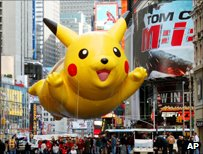 pikachu float