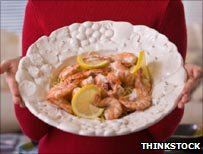 Prawns - a staple of the Dukan diet
