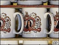 Royal engagement mugs