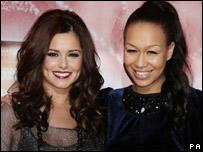 Cheryl Cole and Rebecca Ferguson