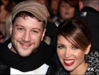 Matt Cardle and Danni Minogue