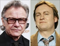 Harvey Keitel and Philip Glenister