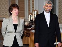 Baroness Ashton in Istanbul