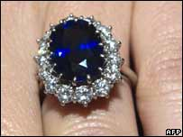 Kate Middleton's engagement ring