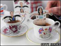 Royal wedding teabags!