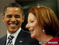 Obama and Gillard