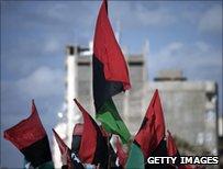Libya opposition flag