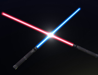 Light sabres (Thinkstock)
