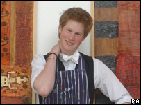 Prince Harry at Eton College