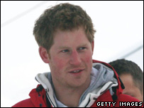 Prince Harry on his charity trek with four wounded ex-soldiers