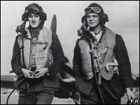 RAF pilots during the war