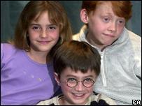 Emma, Daniel and Rupert