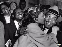 Martin Luther King and his wife Coretta