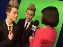 Jedward interview Leah