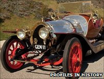 The Chitty car used in the 1968 film