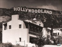 Hollywoodland sign, photo from Bruce Torrence Hollywood Photograph Collection