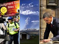 Rapture, volcano, Obama