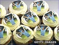 Rory McIlroy cupcakes