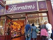Thorntons shop