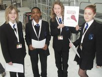 School Reporters from The Grays School Media Arts College