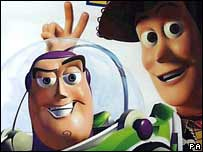 Buzz Lightyear and Woody