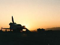 Shuttle landing (Nasa)