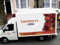 Sainsbury internet delivery