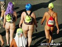 Nudists in San Francisco