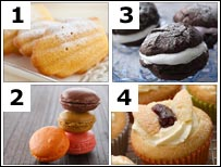 Baked treats (photos from BBC and Thinkstock)