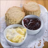 Scones, jam and cream (Thinkstock photo)