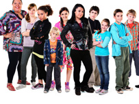 Some of the cast members of Tracy Beaker