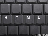 html on a keyboard