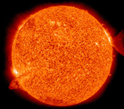 January's nearly simultaneous solar eruptions on opposite sides of the Sun
