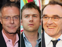 Stephen Daldry, Damon Albarn and Danny Boyle (L-R)