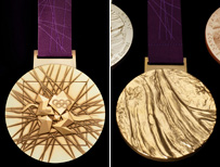 Gold medals for 2012 Games