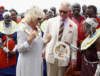 Camilla and Charles in Tanzania