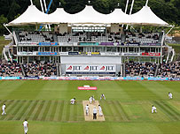 The Rose Bowl in Southampton, English cricket's newest Test venue