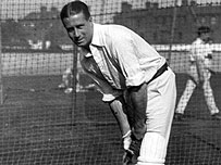 Former England cricket captain Johnny Douglas