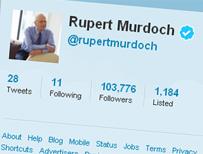 Rupert Murdoch's Twitter feed