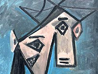 Picasso's Woman's Head