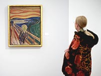 The Scream at the Munch Museum