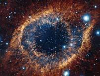 Eye-shaped celestial formation