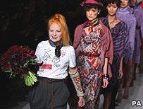 Vivienne Westwood and models