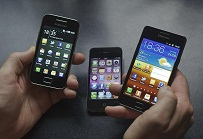 Three smartphones - but which gadget is Nel's favourite?