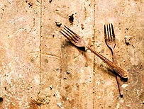 Rusty forks